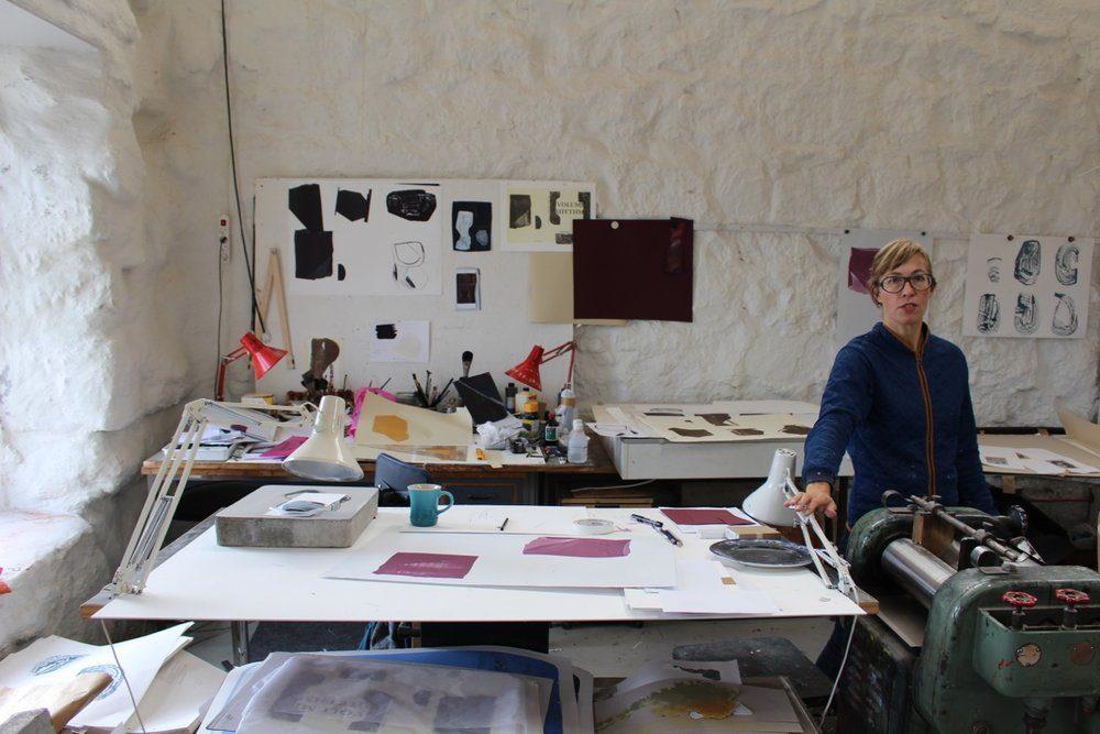Julie Sass i Steinprint